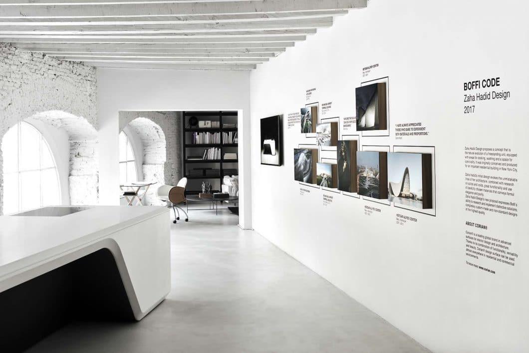 Kunstvoll und doch funktional: Die Kooperation zwischen Boffi und der Architektin Zaha Hadid ist ein wertvoller Coup für die Küchenszene. (Foto: Boffi)