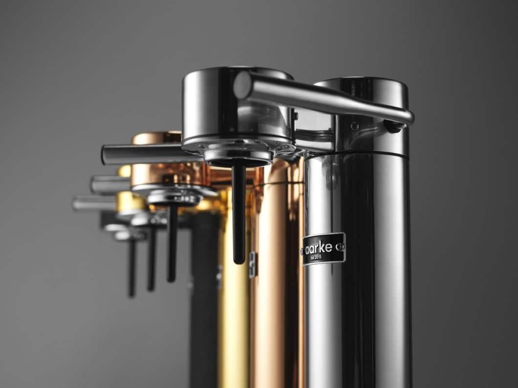Wassersprudler zum Filtern und Carbonisieren von Leitungswasser? Sahen - zumindest in der Vergangenheit - alles andere als ästhetisch aus, allen funktionalen Vorteilen zum Trotz. Das Start-Up aarke aus Schweden möchte das nun mit seinen ästhetischen Produkten ändern. (Foto: aarke)
