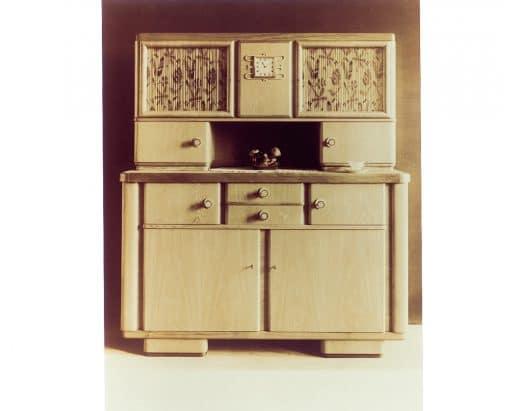 Der erste Küchenschrank von SieMatic bzw. der damaligen Siekmann-Möbelwerke. (Foto: SieMatic)
