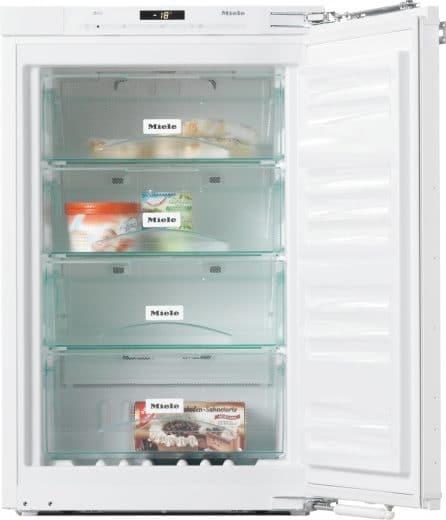 Energieeffiziente Kühlgeräte verbrauchen nur noch wenig Strom - und reduzieren das lästige Abtauen fast komplett. (Foto: Miele)