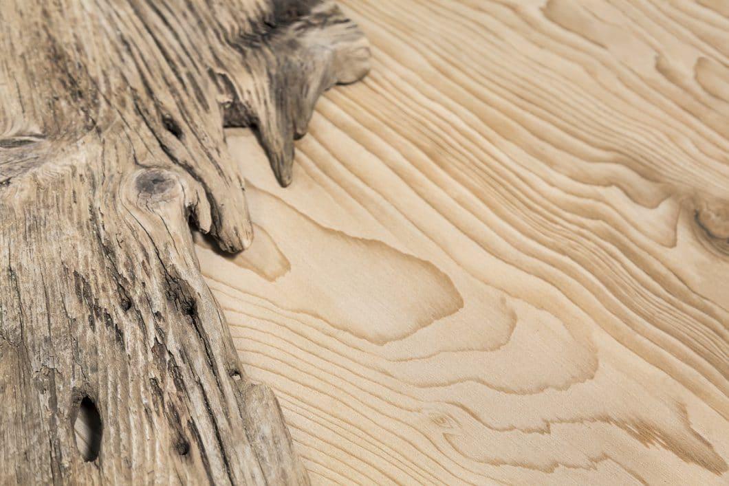 """La Bohème"" von Neolith by TheSize ist dem Holz der Libanon-Zeder nachempfunden. (Foto: TheSize)"