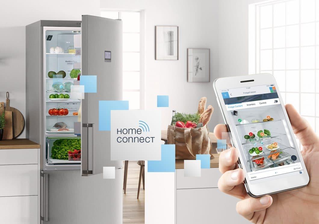 Bosch nutzt die firmeneigene Home Connect-App zur Steuerung aller elektronischen Haushaltsgeräte sowie für Strom, Wärme und Licht. (Foto: Bosch)