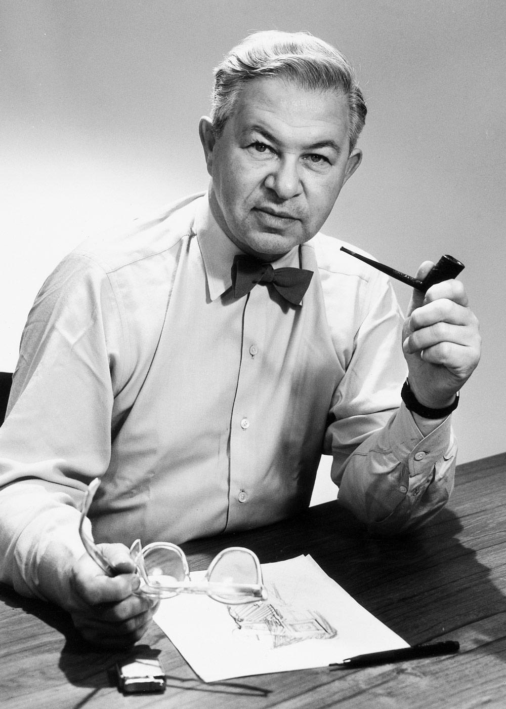Der Name Arne Jacobsen ist untrennbar mit einigen der bekanntesten Designklassiker Dänemarks verknüpft, darunter die ikonische Armatur KV1 von VOLA, die den Durchbruch des Unternehmens markierte. (Foto: Copyright Vola A/S)