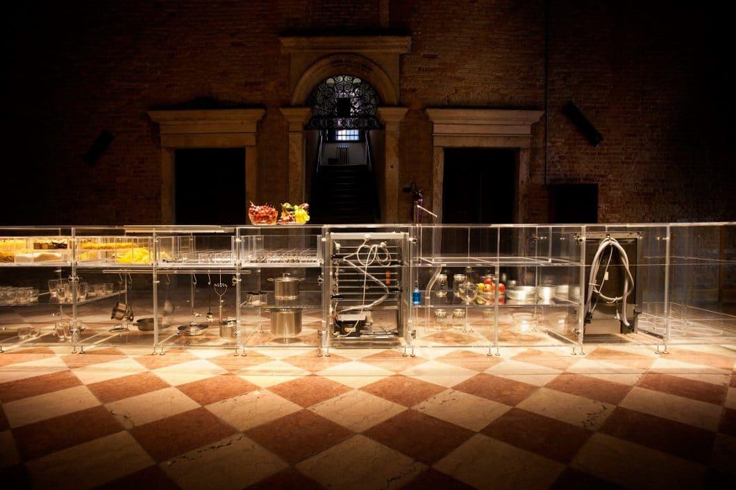Die Infinity Kitchen wurde bereits im Mai 2016 auf der Biennale in Venedig vorgestellt und bejubelt. (Foto: mvrdv.nl)