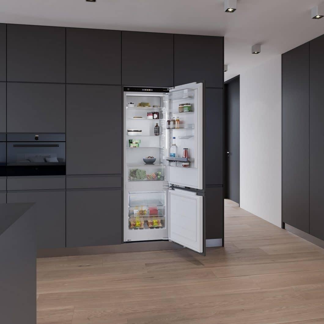 Der CombiCooler zählt ebenfalls zu den V-ZUG Neuheiten 2019. Der Coup: sein Gefrierschrank lässt sich binnen weniger Stunden in einen normalen Kühlschrank verwandeln. (Foto: V-ZUG)