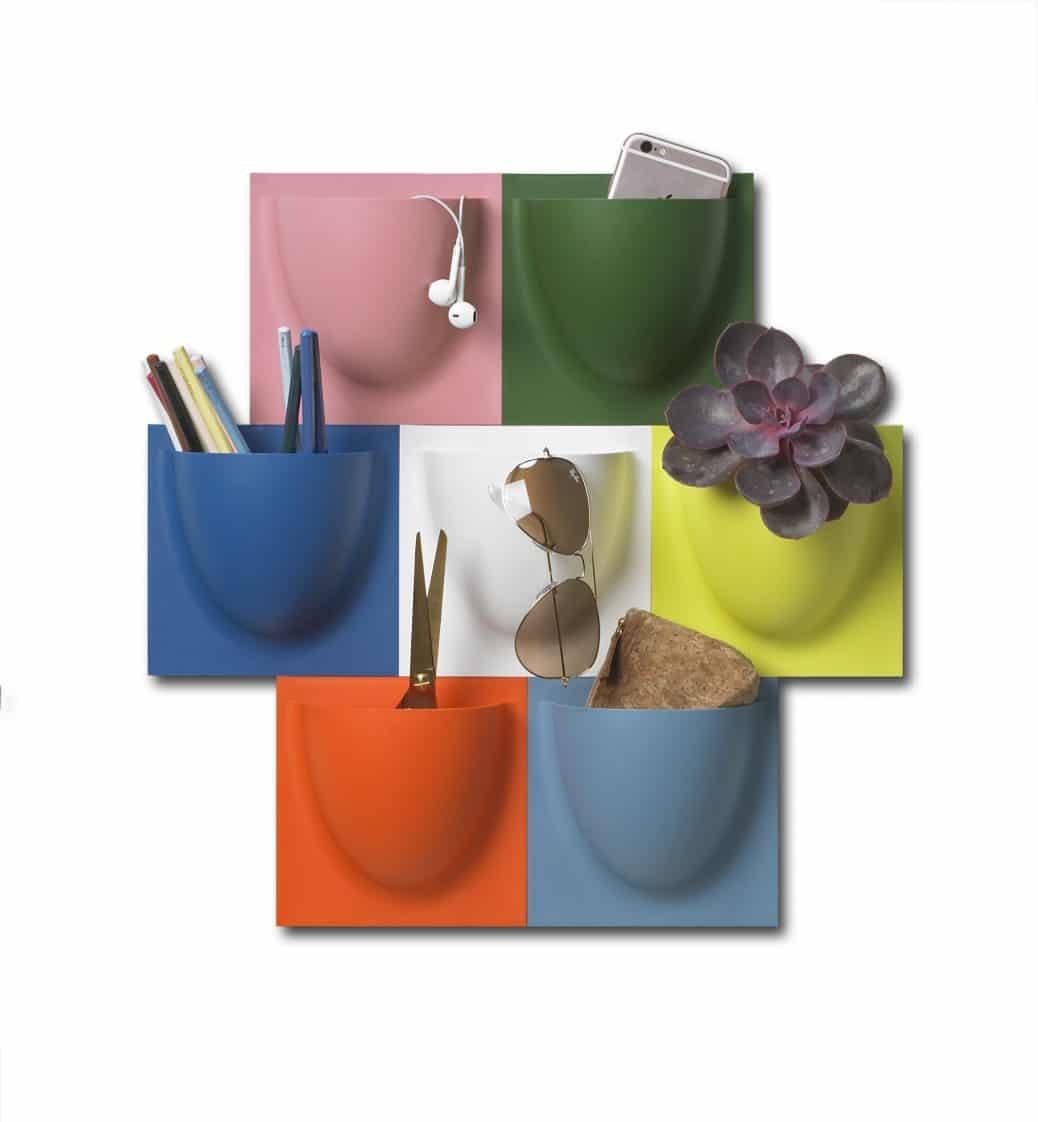Neben den zahlreichen farbenfrohen Editionen der VertiPlants- und VertiPlants Mini-Editionen gibt es ab sofort auch Bioplastik-Modelle in sanften Brauntönen zu kaufen. (Foto: Verti Copenhagen)