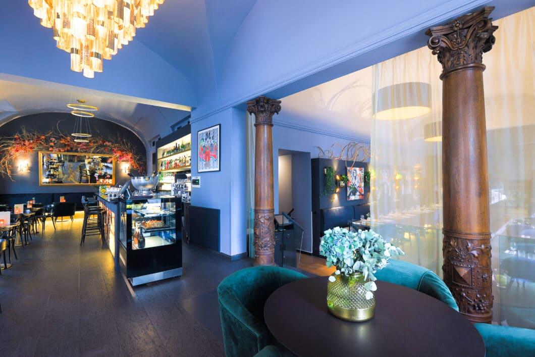 Restaurants in Tschechien: Das DANIELAS by Barock in der Prager Altstadt versteht es, Tradition und Moderne innenarchitektonisch zu fusionieren. (Foto: DANIELAS by Barock)