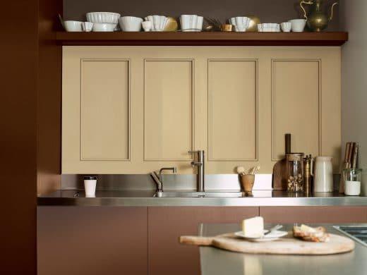 Goldocker. Die Trendfarbe der Küche 2016 laut Dulux, dem Experten für Fassadenfarben.