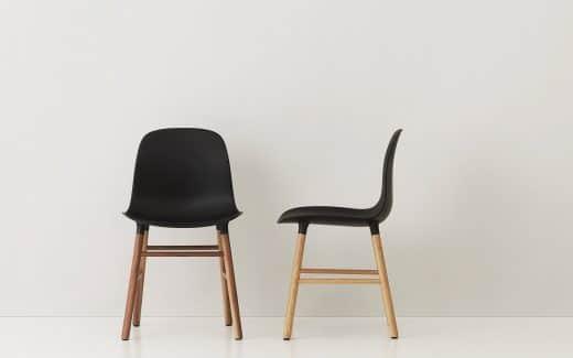 """Küchenstühle schaffen heute das Spagat zwischen klassischer Form, modernem Design und funktionaler Ergonomie. Hier: """"Form"""" von Normann Copenhagen"""