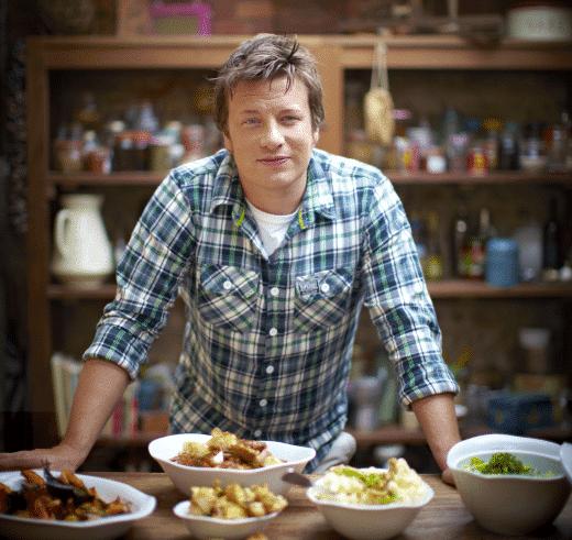 Jamie Oliver an seiner Küchenfront, Foto: Seriouseats