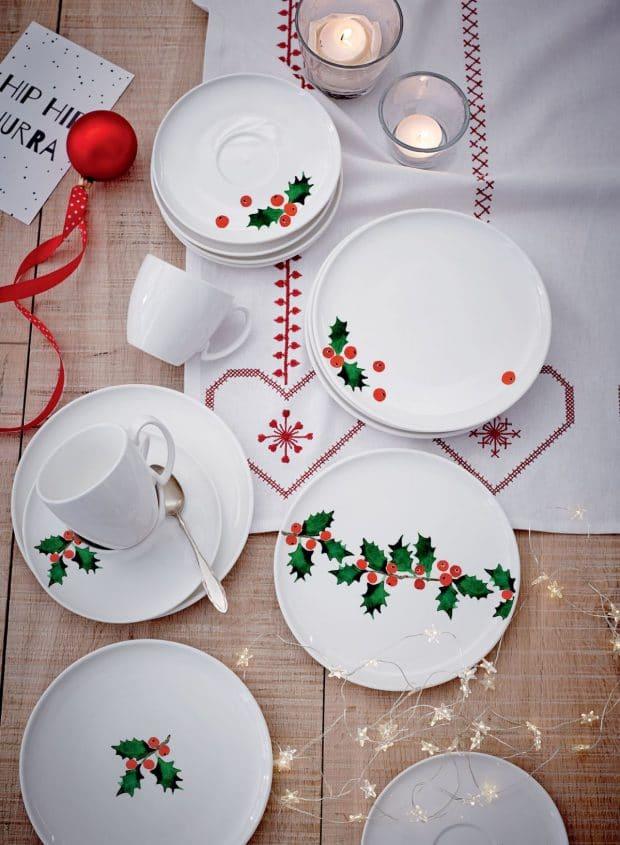 Die klassischen Ilexzweige sind ein berühmtes und beliebtes Motiv an Weihnachtstagen. (Foto: impressionen)