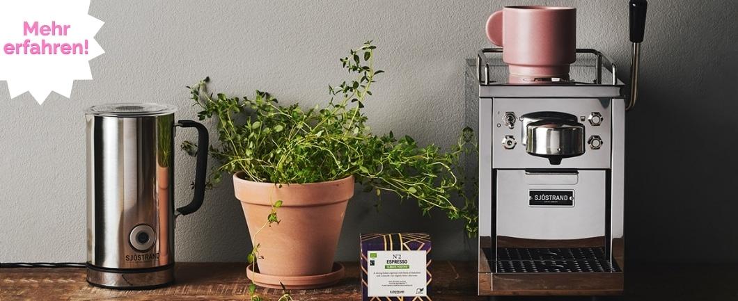 Die schwedische Art, Kaffee zu genießen - nachhaltig und ästhetisch. (Foto: Sjöstrand)