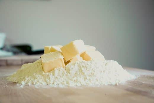 Haushaltstipp: 2 - Backpulver. Markus Spiske, baking soda, flour, Backpulver, Mehl, Butter
