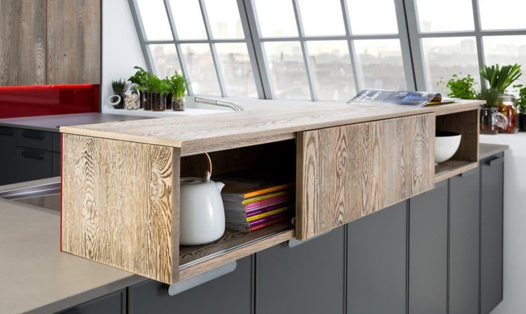 Das Familienunternehmen Rempp Küchen verbindet traditionelles Schreinerhandwerk mit modernen Materialien und kreativen Formen. (Foto: Rempp Küchen)