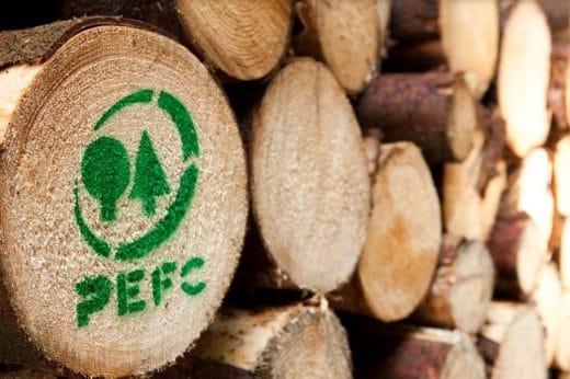 PEFC ist eine unabhängige Organisation zur Überwachung einer nachhaltigen Holzproduktion. (Foto: PEFC)