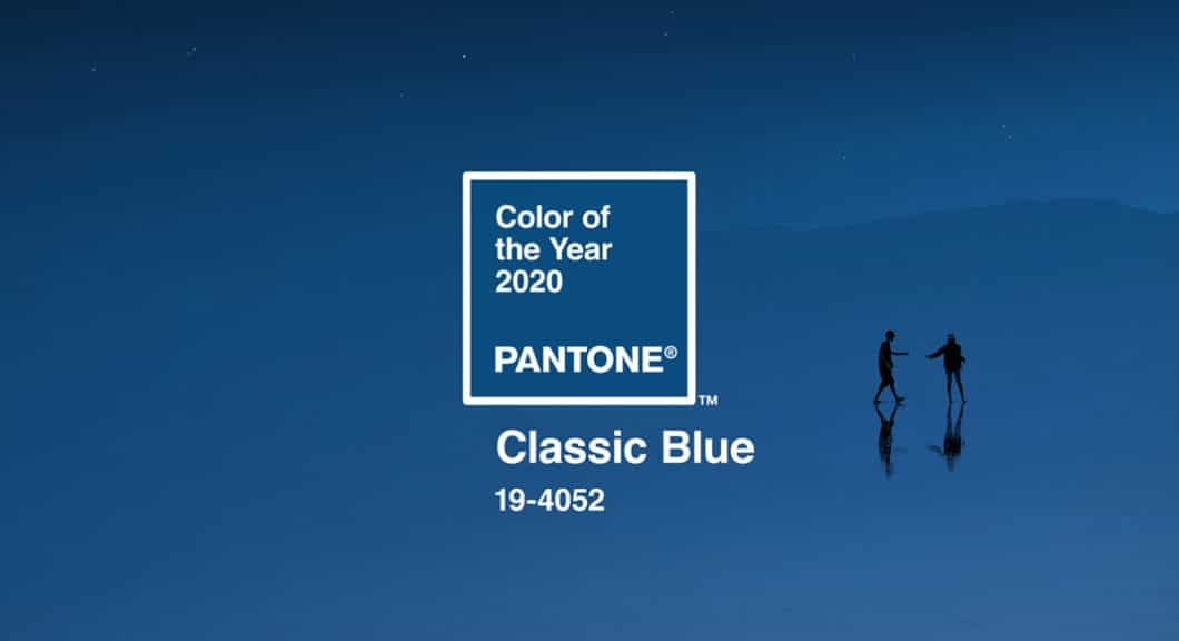 """Pantone präsentiert die Farbe des Jahres 2020: """"Classic Blue"""", ein beruhigender und sehr traditioneller Farbton. (Foto: Pantone)"""