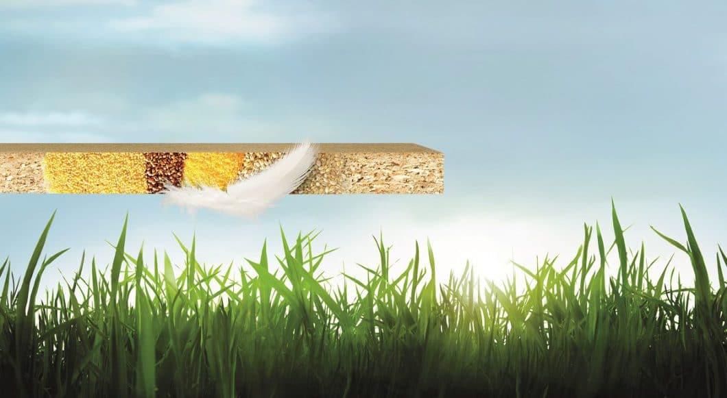 Eine umweltfreundliche Küche made by Rotpunkt: Mit Bio-Spanplatten, die weniger Holz enthalten und recycelbar sind. (Foto: Rotpunkt)