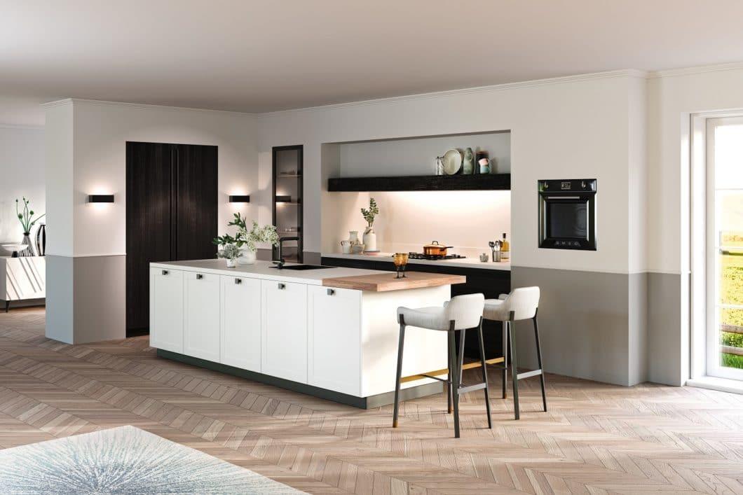 Rotpunkt stammt ebenfalls aus Ostwestfalen, blieb bislang aber eher im Hintergrund. Das Unternehmen hat sich auf qualitätsvolle Küchen mit Option auf Bioboard-Materialien verlegt. (Foto: Rotpunkt)