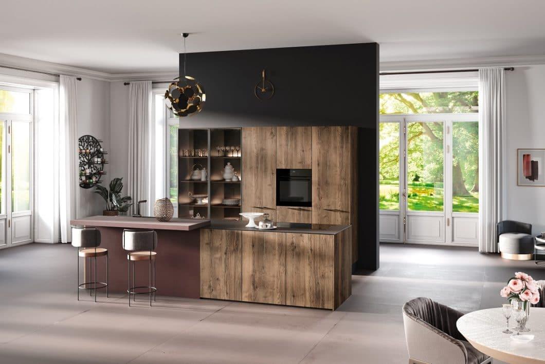 """Die Manufaktur Rotpunkt Küchen beweist, dass sich Eleganz und Naturschutz nicht ausschließen müssen. Ein Großteil der ostwestfälischen Küche sind auch in der nachhaltigen Variante """"greenline"""" erhältlich. (Foto: Rotpunkt)"""