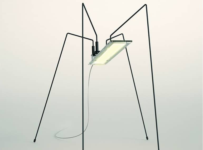"""""""Spider"""" des Designers Bertrand Médas für BLACKBODY."""