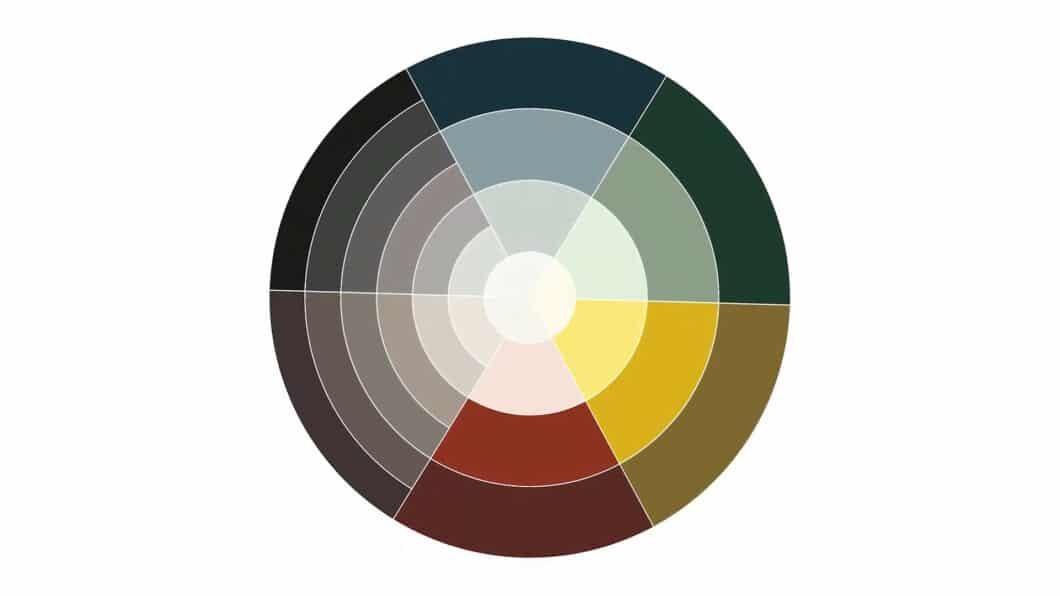 """Das neue """"Colour Concept 2021"""" von Schüller wird von dunklen und gediegenen Farben dominiert. Die vier Grundfarben in Rot, Gelb, Grün und Blau werden in gediegenen Schattierungen angeboten. (Foto: Schüller)"""