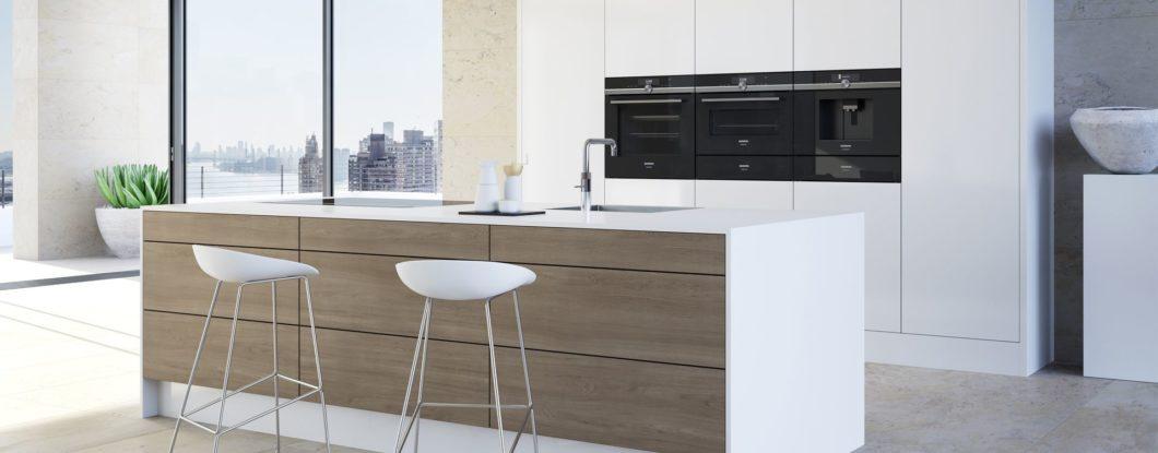 Die Gerätekollektion der Siemens studioLine bietet anspruchsvollen Köchen daheim semi-professionelle Bedingungen, mit denen einzigartige Menüs erzeugt werden können. (Foto: Siemens Hausgeräte)