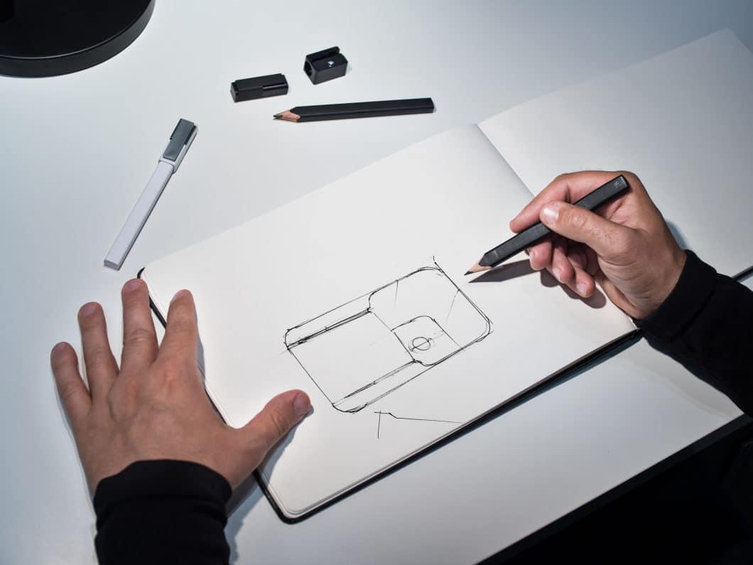 Der Designer Patrick Frey legte schon beim Entwurf der Siluet großen Wert auf Minimalismus und scharfe Kanten.