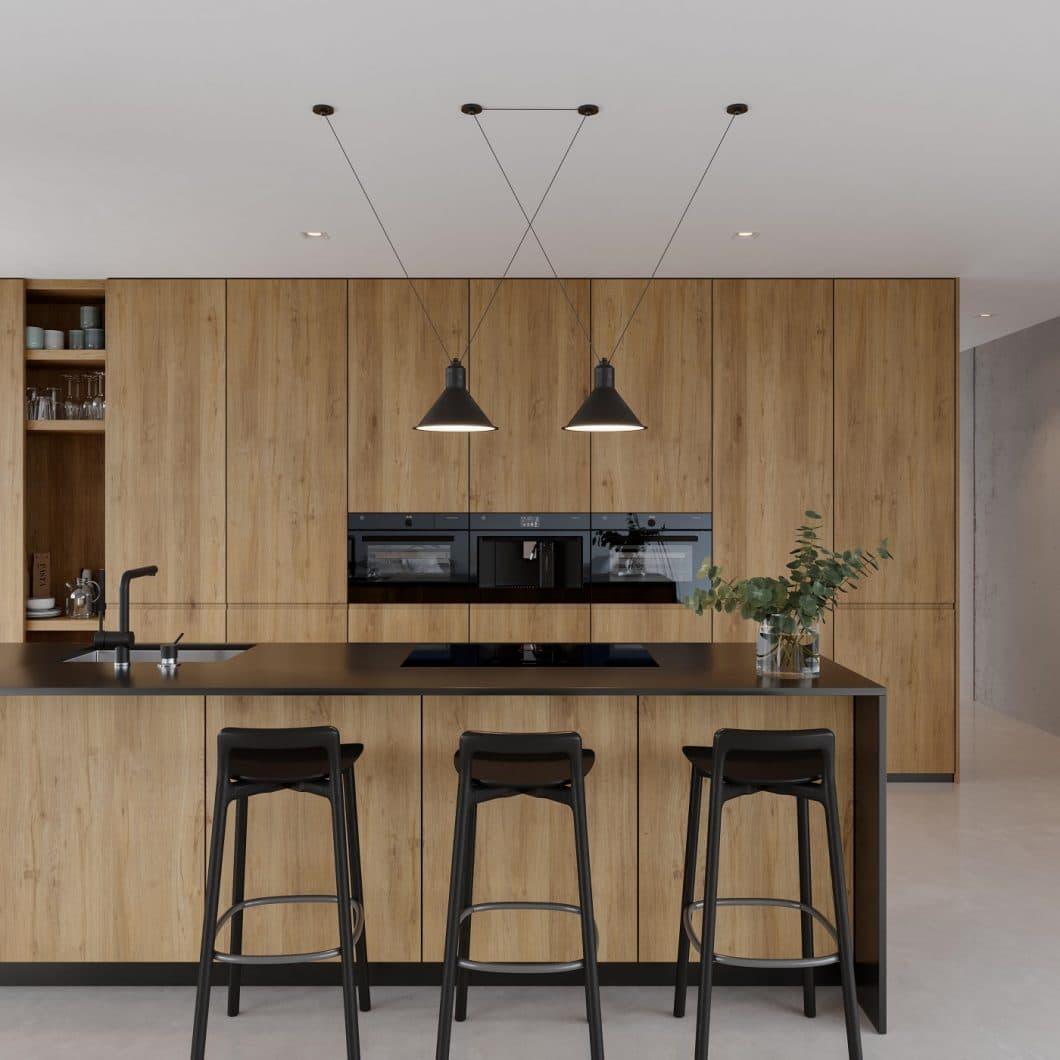"""Das elegante """"Coffee Center"""" von V-ZUG überzeugt vor allem mit seinem eleganten Design. Es produziert Kaffeeprodukte in Temperatur, Tassengröße und Stärke individuell für jeden Nutzer. (Foto: V-ZUG)"""