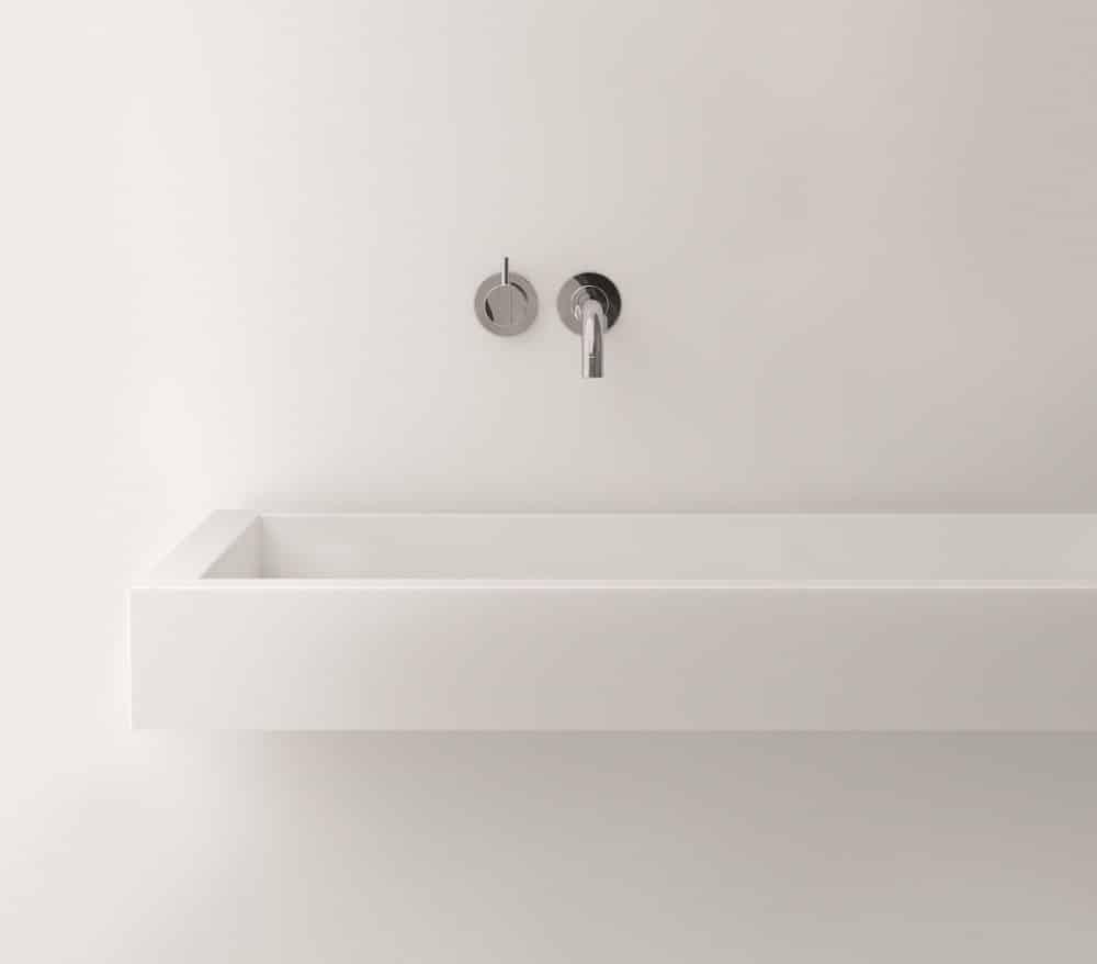 Streng minimalistisch und kühl ist die Architektur des Funktionalismus, die Jacobsen auf die Armaturen von VOLA übertrug. (Foto: Copyright Vola A/S)