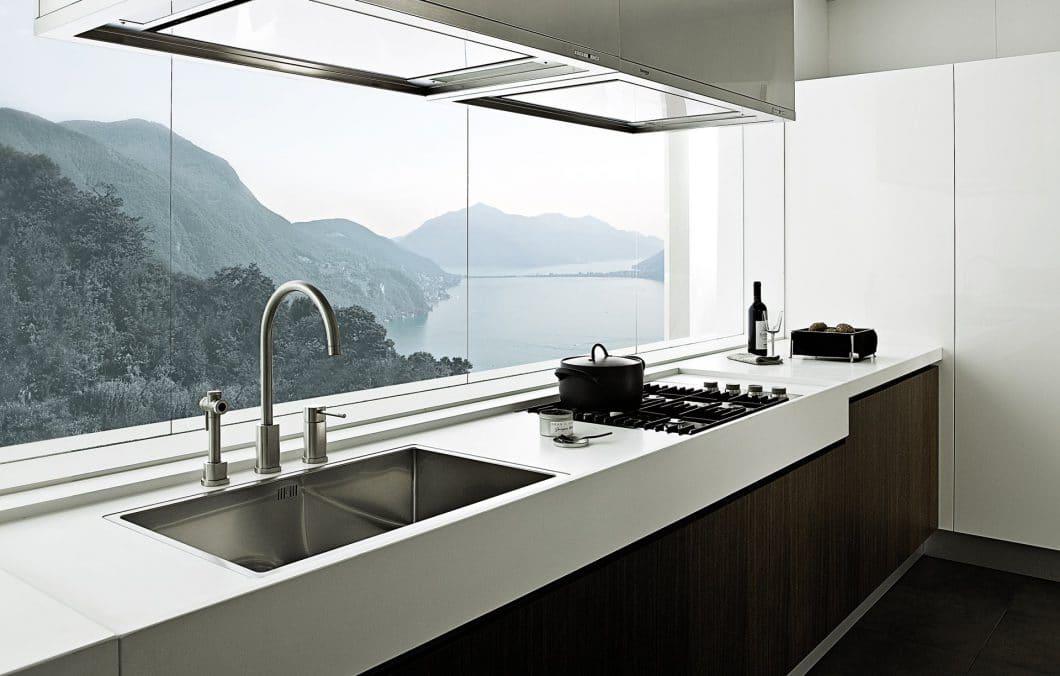 Varenna kann zahllose, wunderschöne Küchen sein eigen nennen. Mit dieser italienischen Luxusküche gerät man ins Schwärmen! Modell: Alea. (Foto: Varenna)