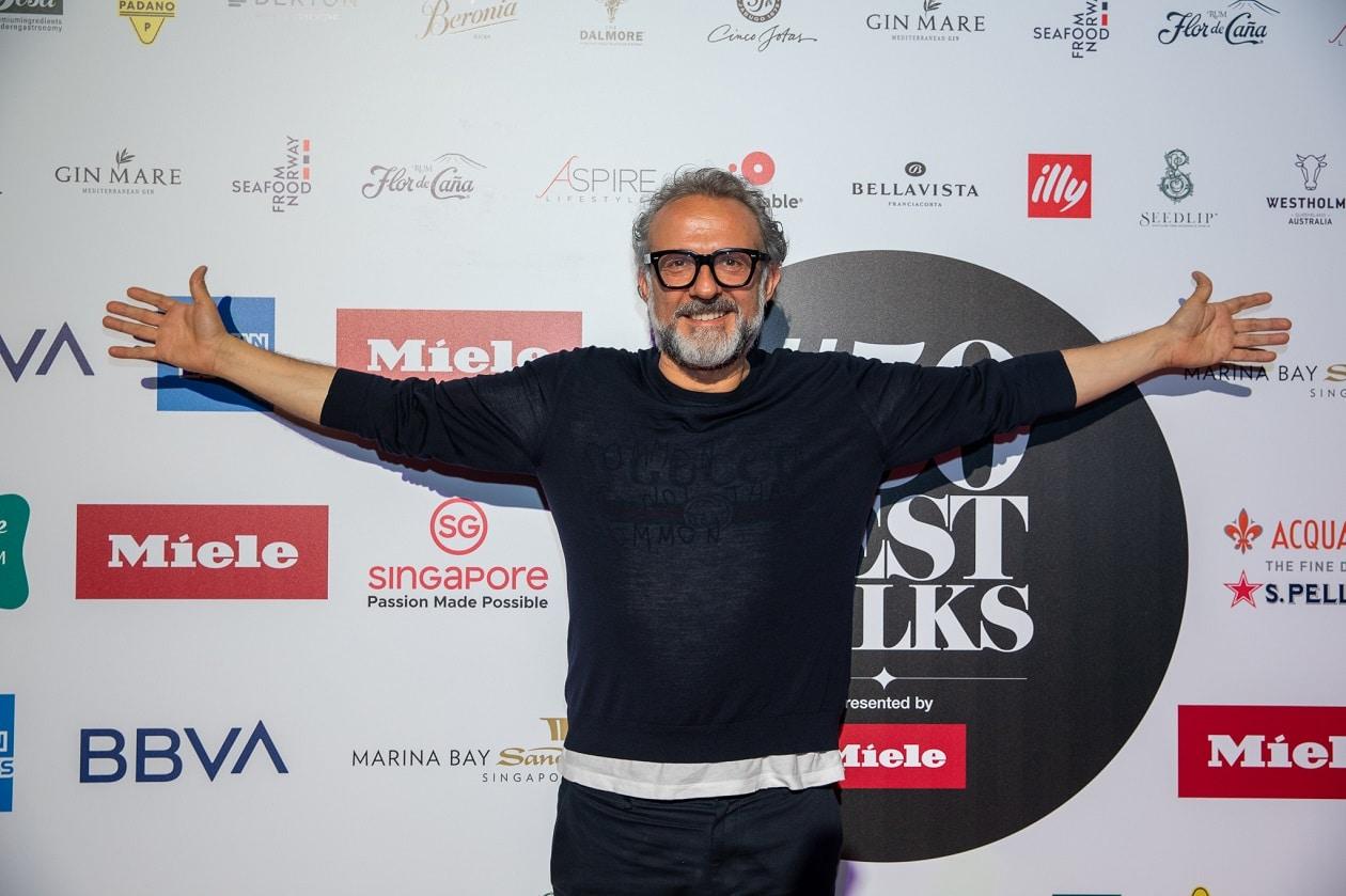 Massimo Bottura, Michelin-Sternekoch und Inhaber der berühmten Osteria Francescana, ist der Gründer der gemeinnützigen Organisation Food for Soul.. (Bild: 50 best restaurants oft he world)