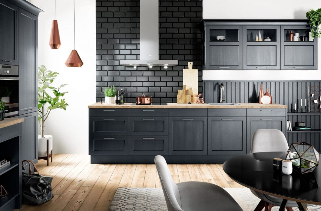 Der Landhausstil wird puristischer, klar definierter - und damit auch wieder modern: Hersteller setzen für die Küchentrends 2019 verstärkt auf diesen Stil. (Foto: häcker)