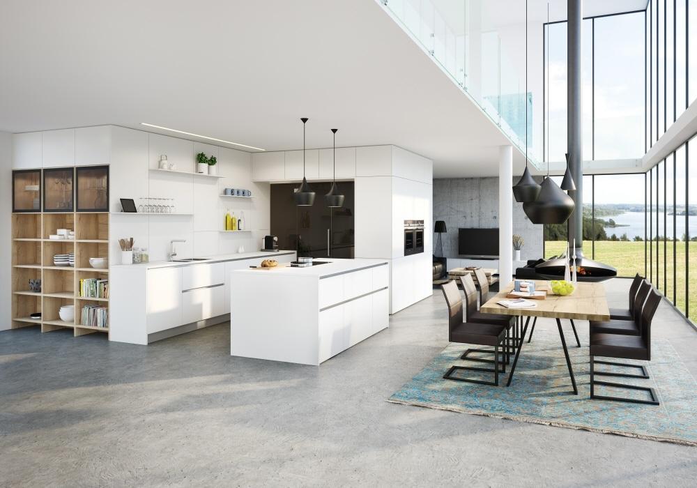 Die qualitätsvollen Küchen des österreichischen Herstellers ewe werden auch zunehmend im (süd-)deutschen Küchenraum verkauft. (Foto: ewe)