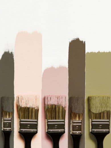 """Flamant hat seine Winterfarben nicht nur warmherzig kombiniert, sondern auch benannt: Ballerina, Diva und """"Plaster"""", also (Trost-)Pflaster, werden mit Olive kombiniert für ein warmes Zuhause. (Foto: Flamant)"""