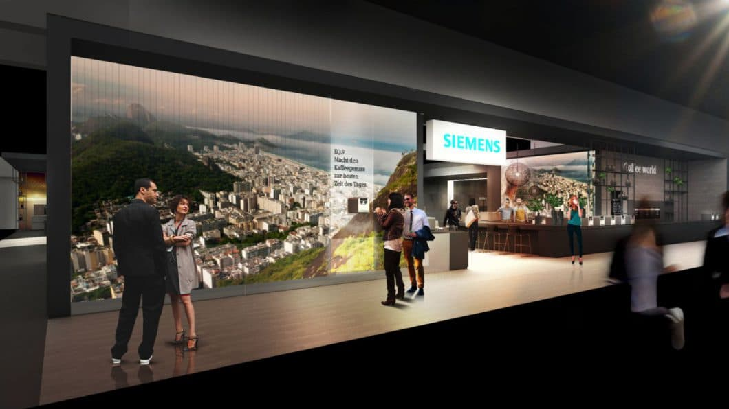 Kaffeegenuss, Backen in varioSpeed oder Vernetzung via Home Connect App: Siemens hat mit der Digitalisierung seiner Hausgeräte noch viel vor mit dem Endkunden. (Foto: Siemens Hausgeräte)