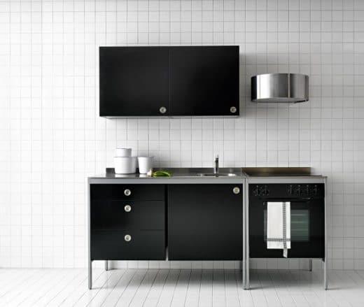 Auch IKEA mischt mit: Wer zunächst mit einer günstigen (Modul-)Küche einsteigen oder eine WG ausstatten will, in der jeder andere Vorlieben hat, kann es mit dem Modell Udden probieren. (Foto: IKEA)