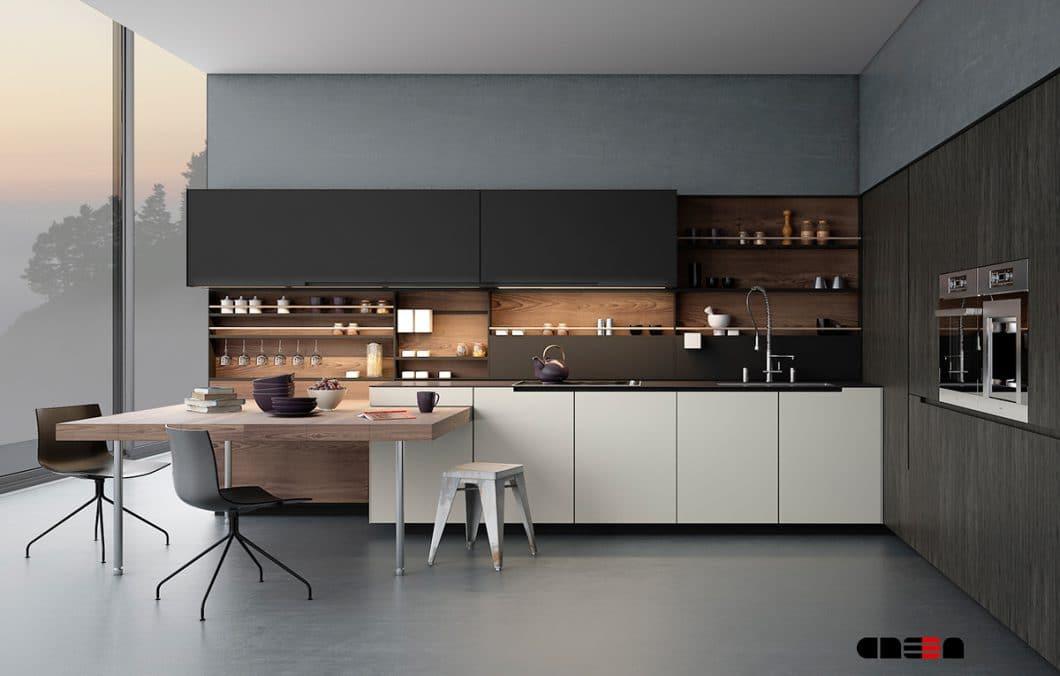 Die Big City Life-Küche mit hohen Designansprüchen. (Visualizer: CRE3A Creative Design Solutions)