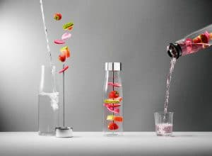 Fruit-flavoured water? Gibt's schon länger. Aber noch nicht so schön wie hier bei My Flavour von Tools Design. (Foto: GDA)