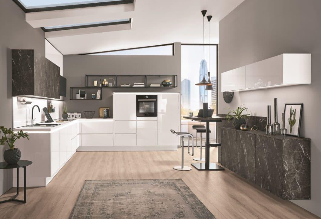 Hätten Sie's gedacht? Das Unternehmen steht nicht nur für moderne Küchenräume... (Foto: nobilia)