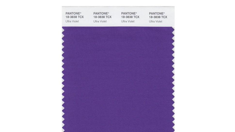 """Pantones """"Ultra Violet"""" als Einzelfarbe? Stark. Als Küchenfarbe? Eher schwierig. (Foto: Pantone)"""