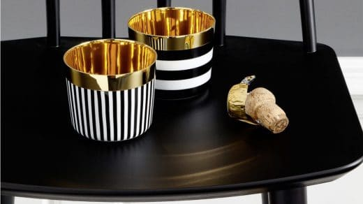 Mal ganz exzentrisch die Korken knallen lassen: Mit SIP of Gold scheint es, als trinke man flüssiges Gold. (Foto: SIEGER BY FÜRSTENBERG)