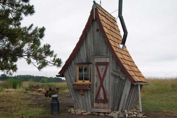 """Wer es rustikaler mag, probiert es mit einem kleinen Häuschen der Feriensiedlung """"The Rustic Way"""" in den USA."""