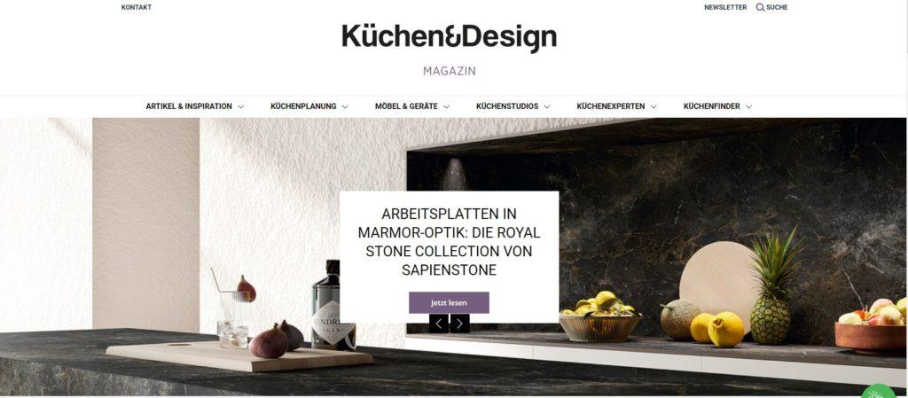 Ein Blick zurück: Das Küchen&Design Magazin wurde 2016 gegründet. Nun haben wir Optik & Funktionalität einer Verjüngungskur unterzogen. (Foto: Küchen&Design Magazin)